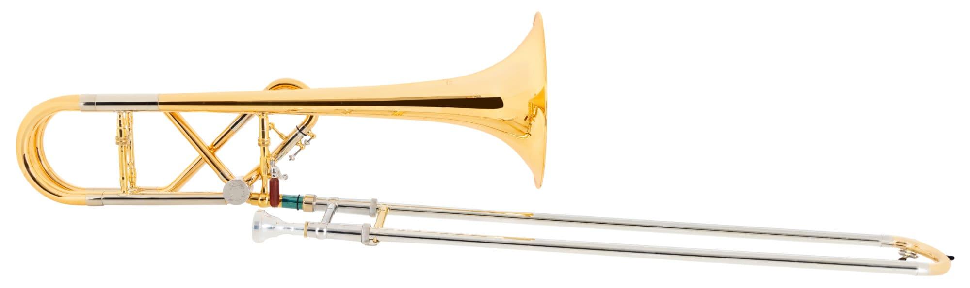Posaunen - Lechgold QP 20GL Quartposaune Goldmessing - Onlineshop Musikhaus Kirstein