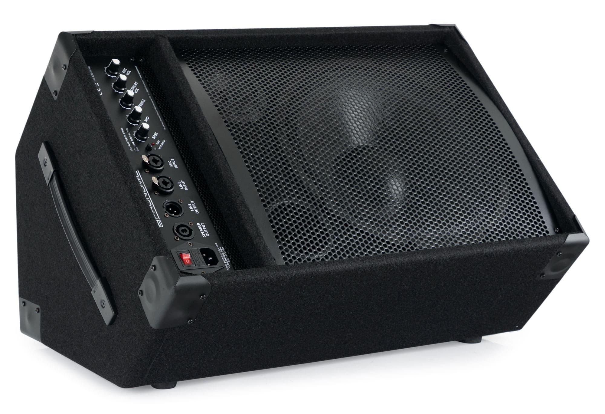 Paendstufen - Pronomic KAM 12BT Aktiver Bühnenmonitor mit Bluetooth® unvollständig! - Onlineshop Musikhaus Kirstein