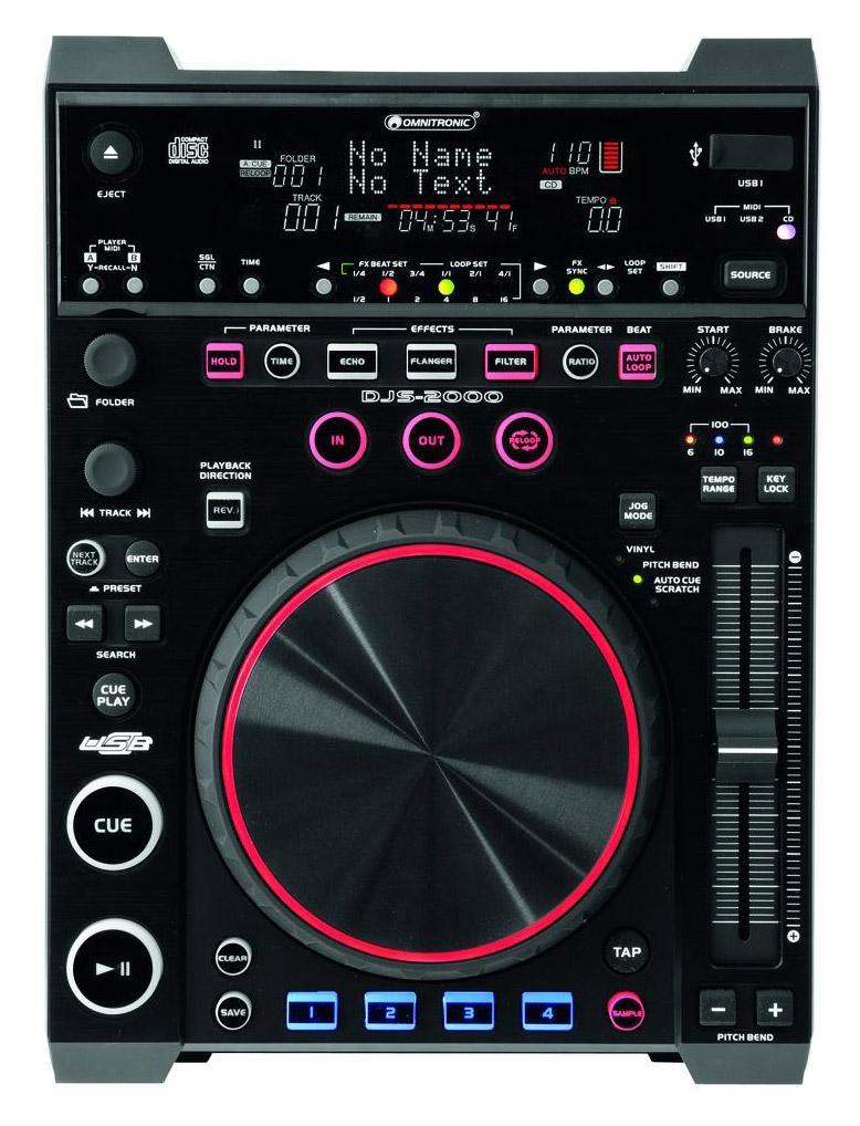 Omnitronic DJS 2000 DJ Player