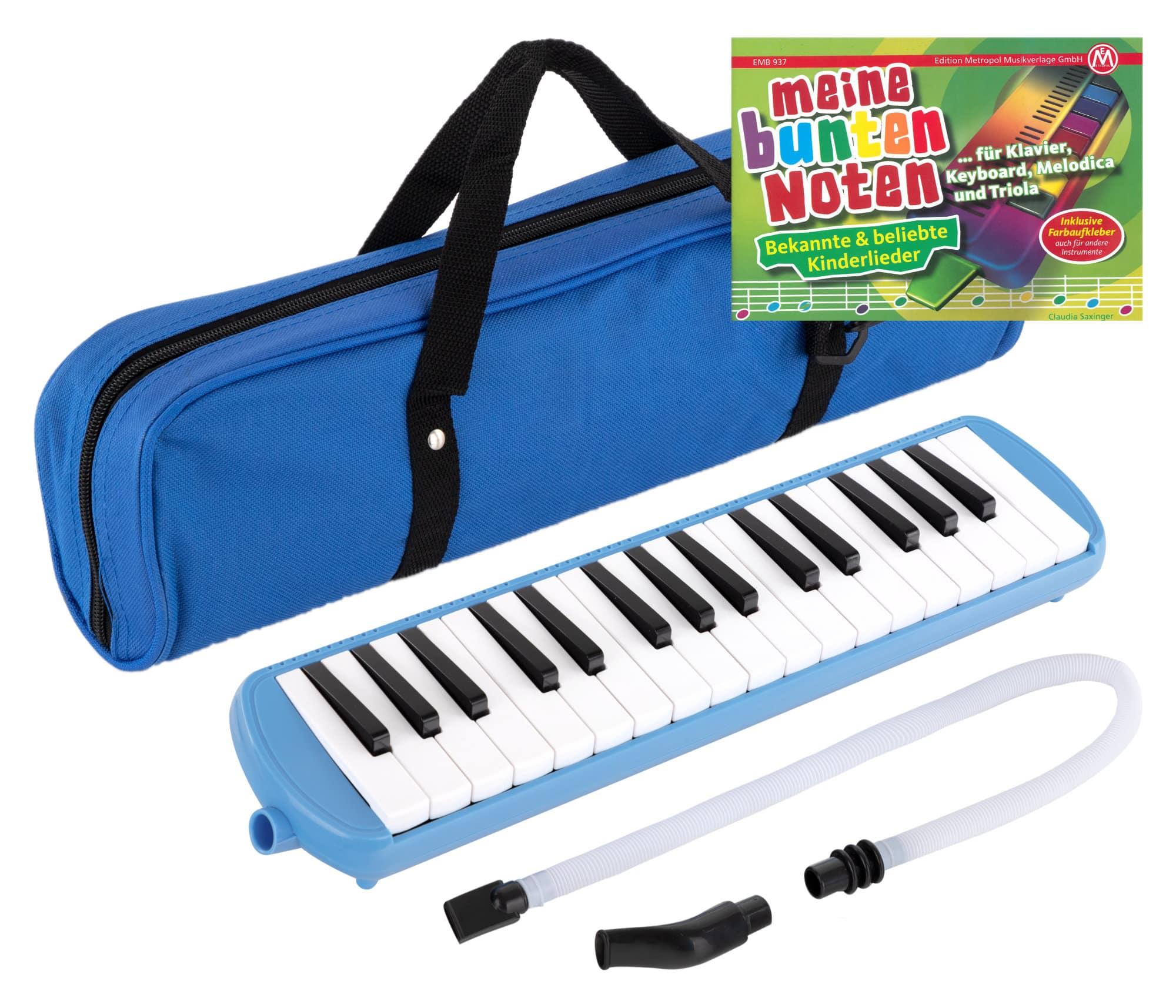 Meine bunten Noten Kinderlieder 2 ANFÄNGER Farben Melodica Keyboard Noten