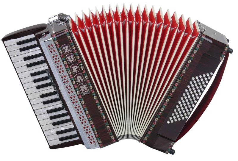 Akkordeons - Zupan Alpe III 72 M Akkordeon Palisander - Onlineshop Musikhaus Kirstein