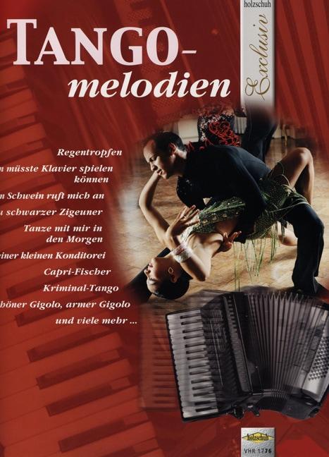Tango Melodien Noten für Akkordeon