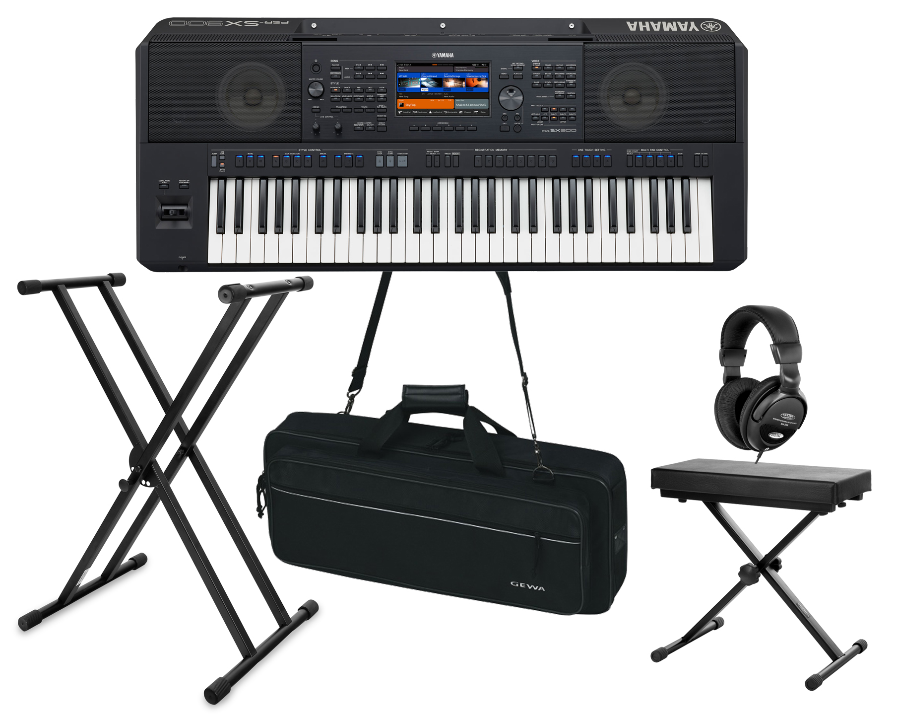 Yamaha PSR SX900 Deluxe Set