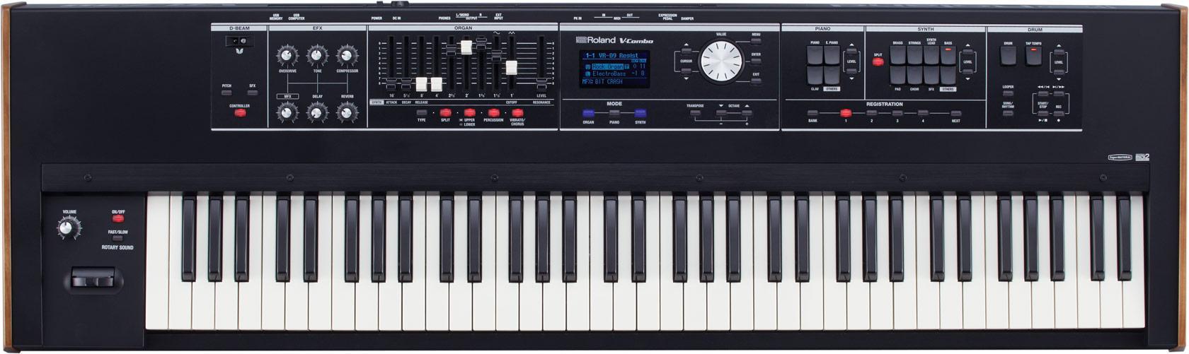 Homekeyboards - Roland VR 730 V Combo Keyboard Live Performance Keyboard - Onlineshop Musikhaus Kirstein