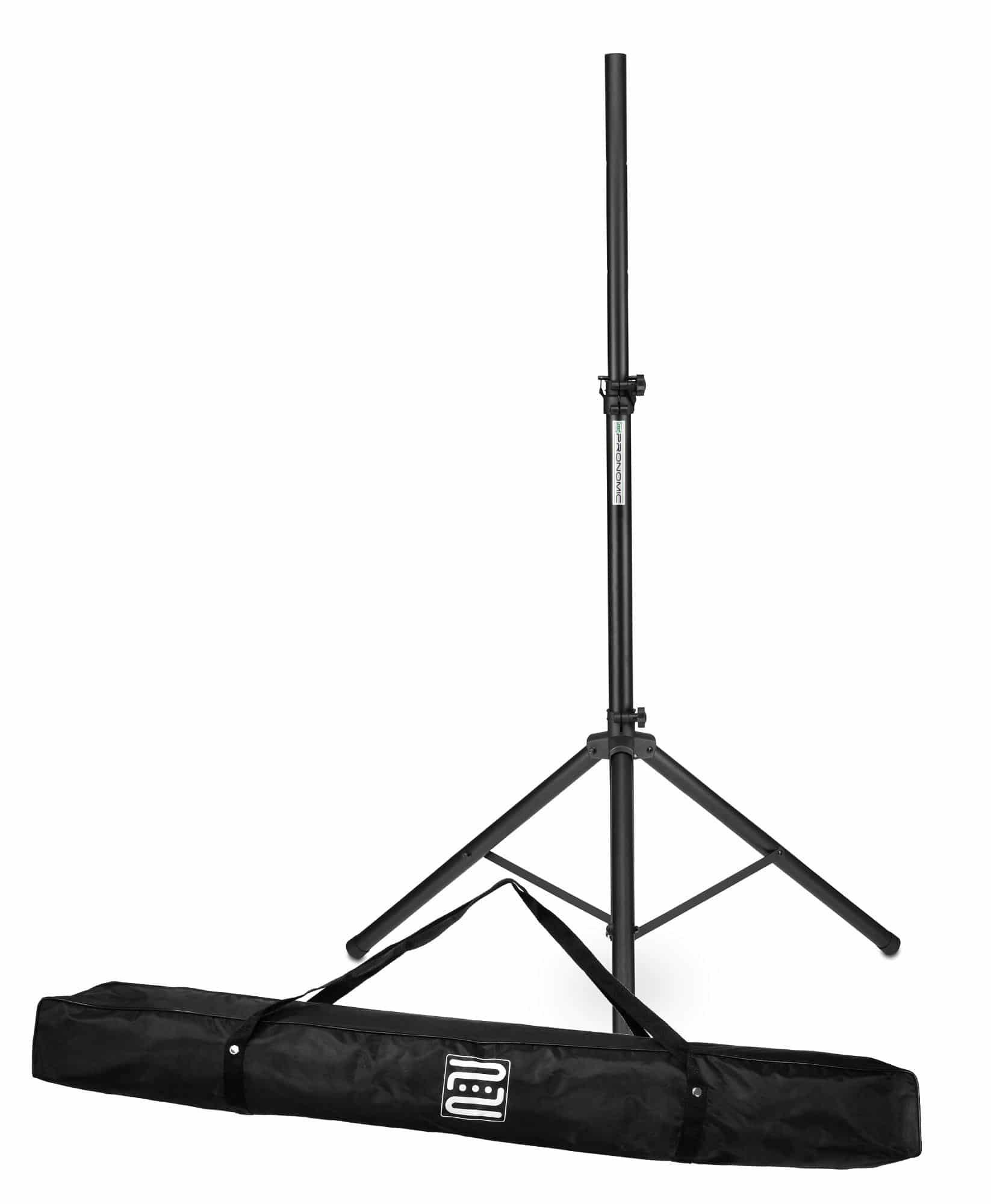 Studiozubehoer - Pronomic SPS 1S Boxenstativ Stahl Set mit Tasche - Onlineshop Musikhaus Kirstein