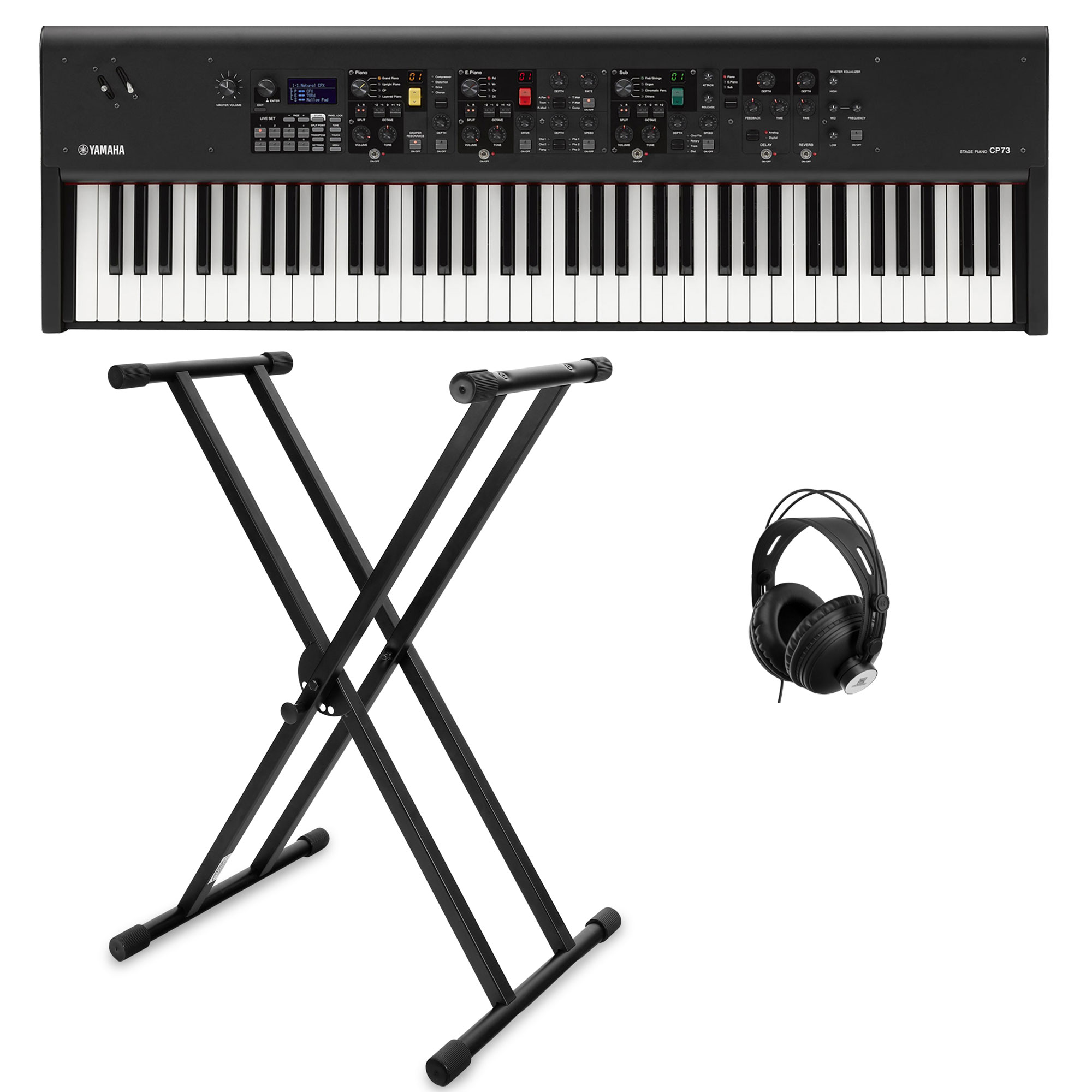 Digitalpianos - Yamaha CP88 Stagepiano Set - Onlineshop Musikhaus Kirstein