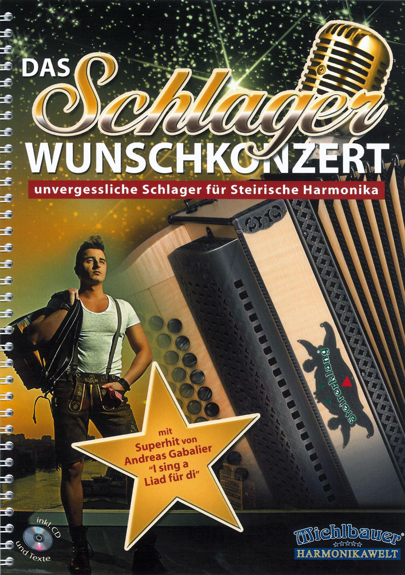 Akkordeonlernen - Das Schlager Wunschkonzert - Onlineshop Musikhaus Kirstein