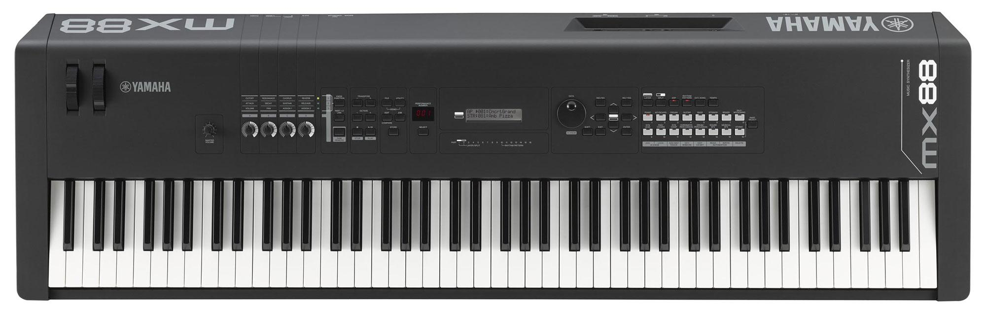 Synthesizer - Yamaha MX88 Synthesizer schwarz - Onlineshop Musikhaus Kirstein