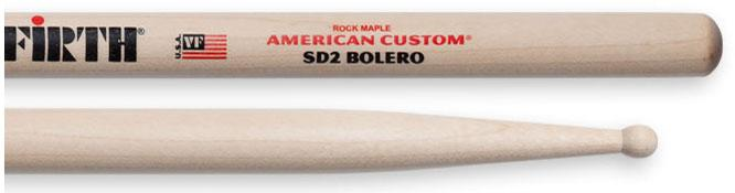 Vic Firth SD2 Holz Drumsticks American Custom 'Bolero'