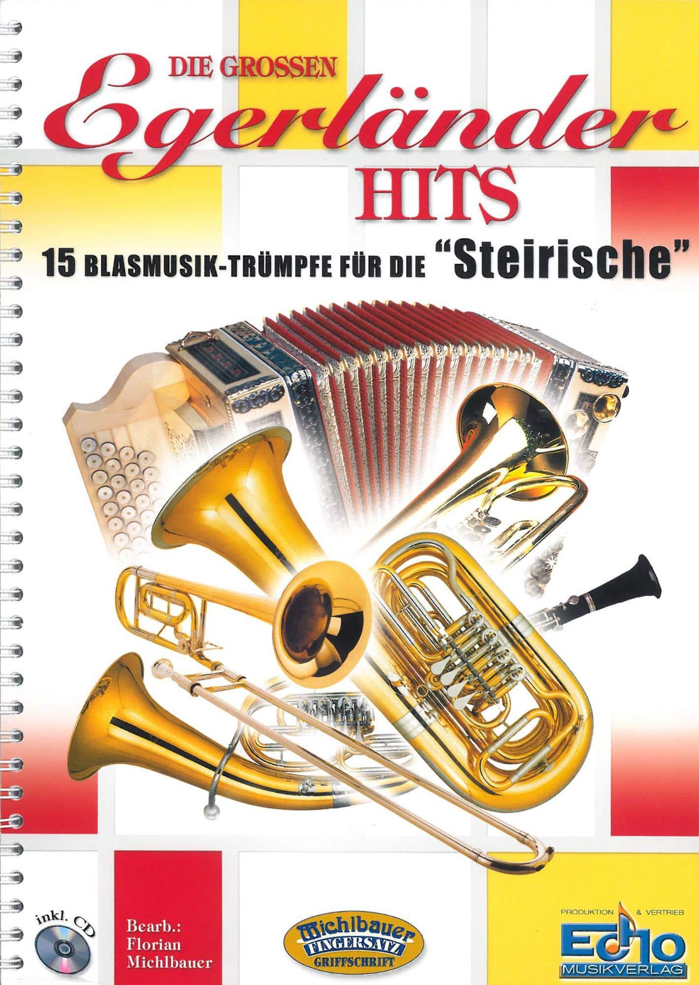 Akkordeonlernen - Die großen Egerländer Hits mit CD - Onlineshop Musikhaus Kirstein