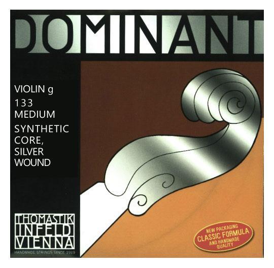 Streichsaiten - Thomastik Dominant 133 Saite für Violine G 4 4 - Onlineshop Musikhaus Kirstein