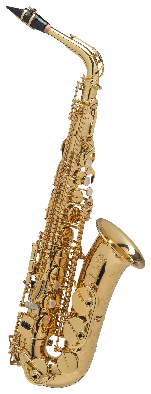 Saxophone - Selmer Eb Altsaxophon Axos Goldlack Set - Onlineshop Musikhaus Kirstein