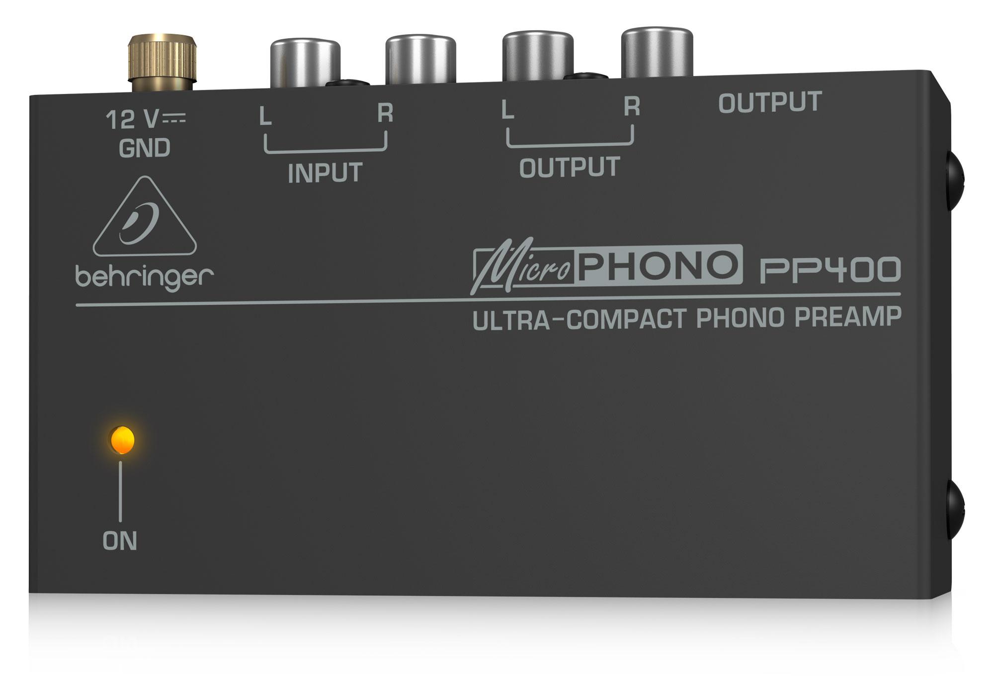 Diboxen - Behringer PP400 Phono Vorverstärker - Onlineshop Musikhaus Kirstein