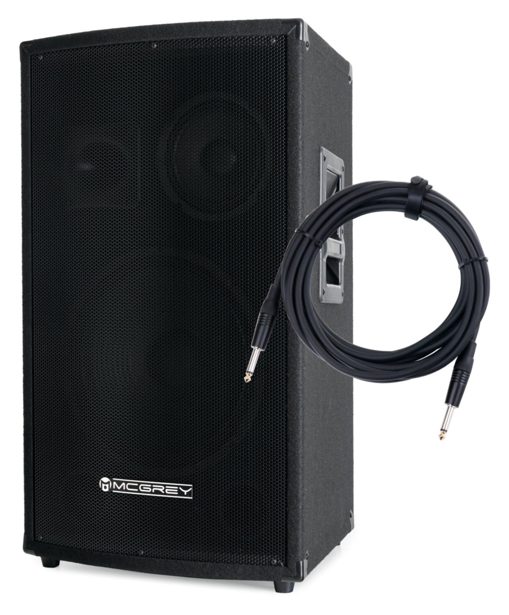 Paboxen - McGrey SL 12|3 12' 3 Wege Passivbox Set inkl. Kabel - Onlineshop Musikhaus Kirstein