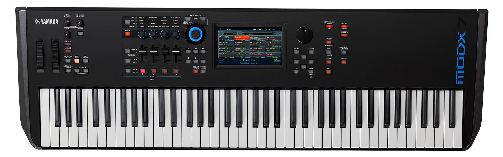 Synthesizer - Yamaha MODX7 Synthesizer - Onlineshop Musikhaus Kirstein