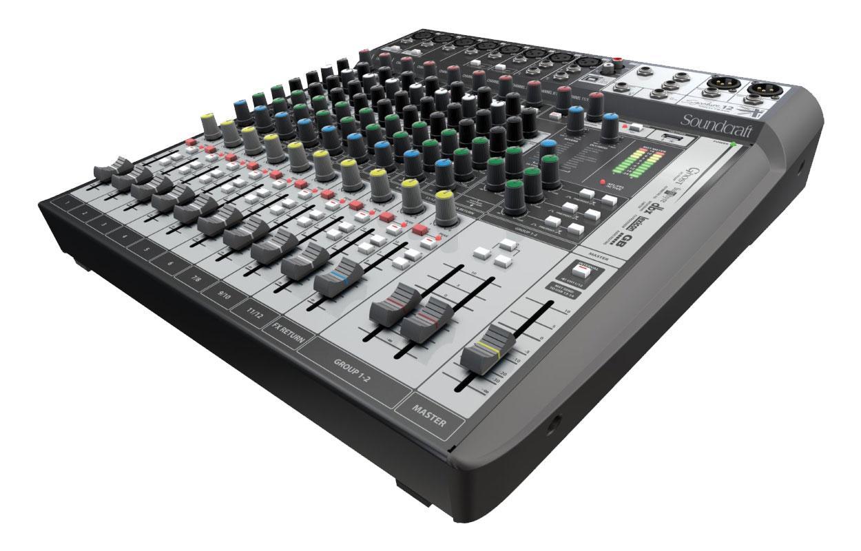 Mikrofone - Soundcraft Signature 12 MTK Retoure (Zustand sehr gut) - Onlineshop Musikhaus Kirstein