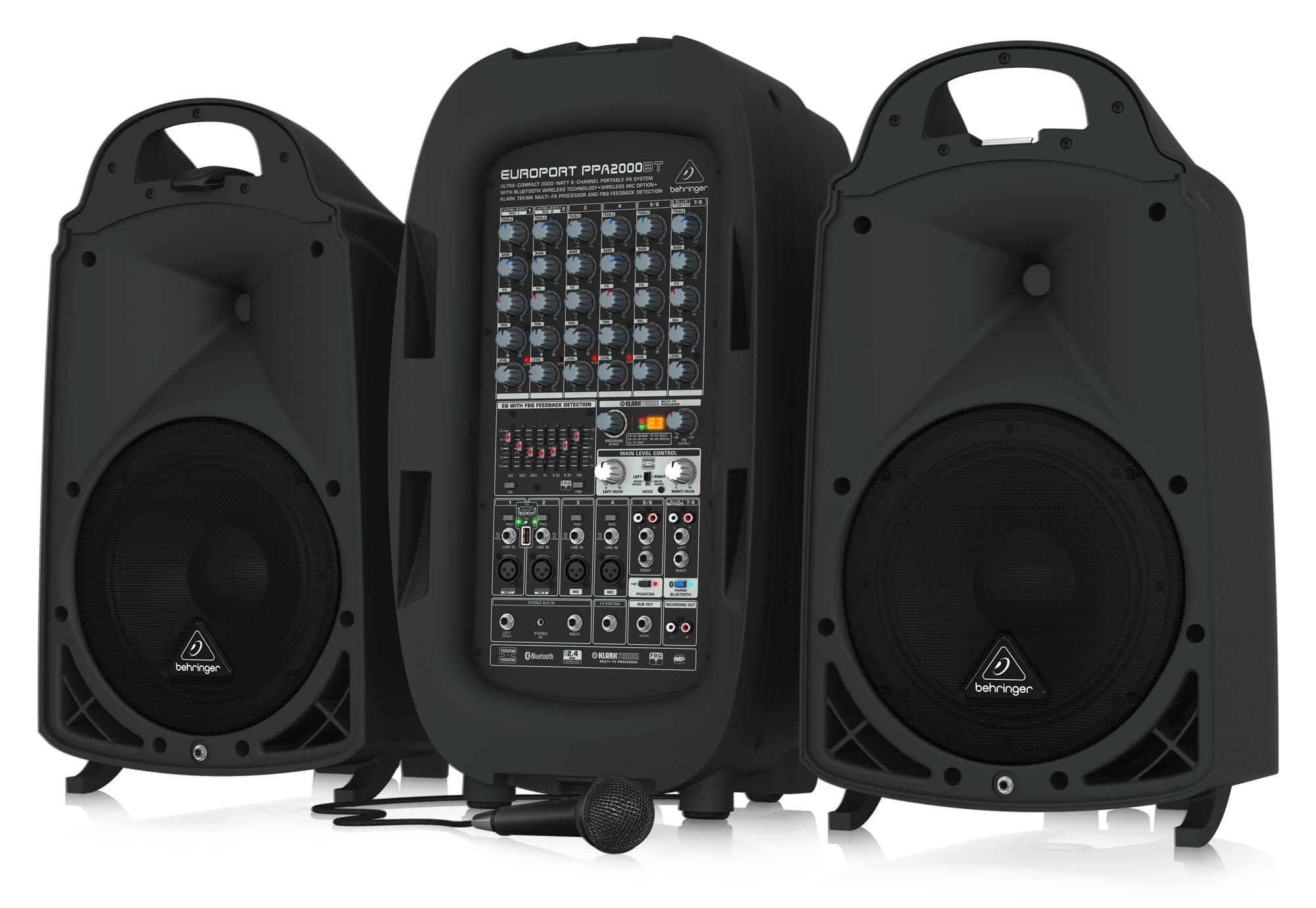 Behringer PPA2000BT PA System