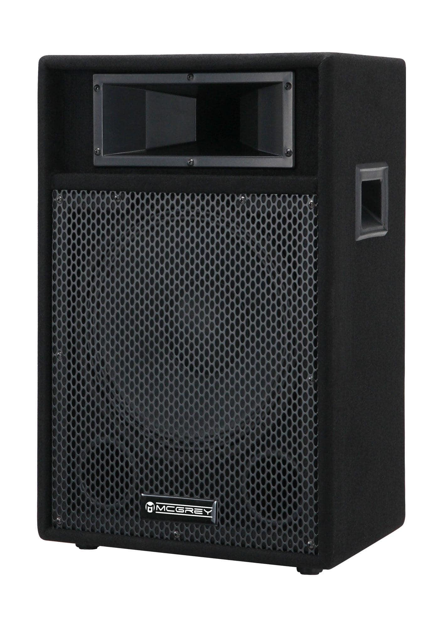 Paboxen - McGrey PA 112 passive PA Lautsprecher Box 300 Watt - Onlineshop Musikhaus Kirstein