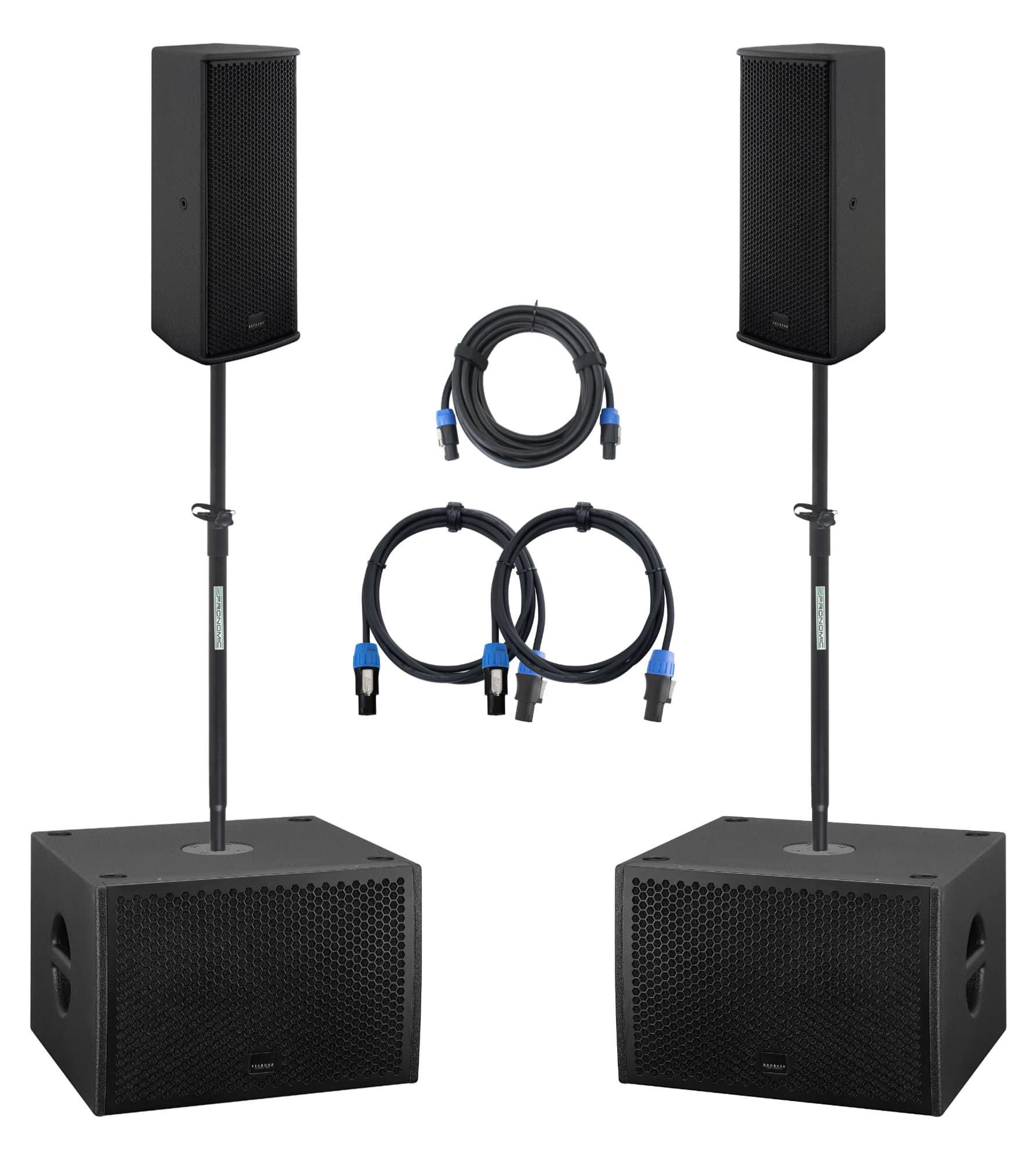 Boxenkomplettanlagen - Seeburg A2|G Sub 1201dp Stereo Extended Set - Onlineshop Musikhaus Kirstein