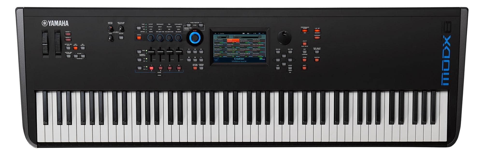 Synthesizer - Yamaha MODX8 Synthesizer - Onlineshop Musikhaus Kirstein