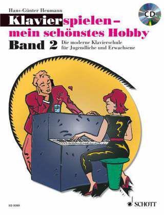 Klavierspielen mein schönstes Hobby 2 Band 2 inkl. CD