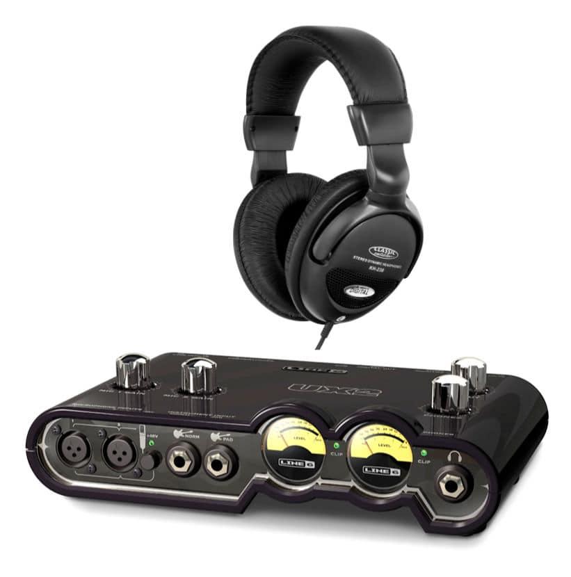 Pchardware - Line6 POD Studio UX2 Audio Interface Set - Onlineshop Musikhaus Kirstein