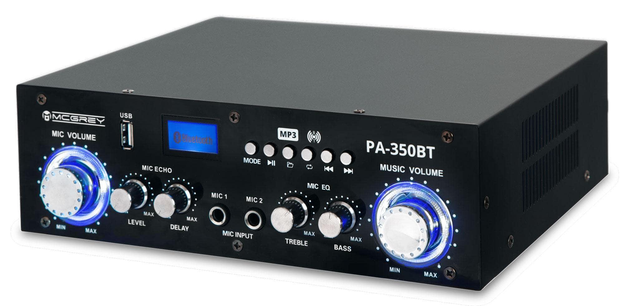Paendstufen - McGrey PA 350BT Bluetooth Endstufe mit USB|MP3 Player Retoure (Zustand sehr gut) - Onlineshop Musikhaus Kirstein
