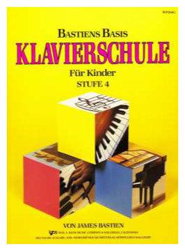 Klavierlernen - Bastiens Basis Klavierschule für Kinder Stufe 4 - Onlineshop Musikhaus Kirstein