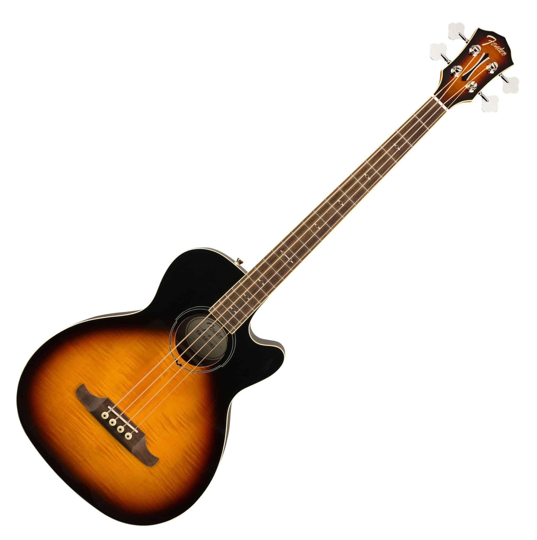 Akustikbass - Fender FA 450CE 3CS - Onlineshop Musikhaus Kirstein