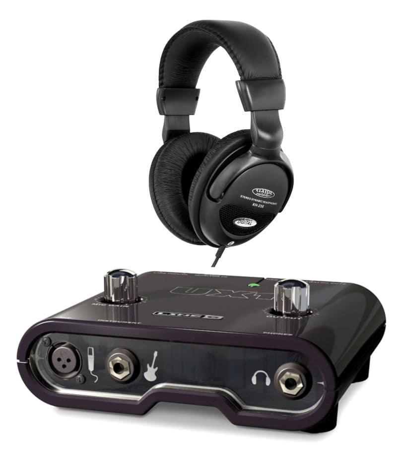 Pchardware - Line6 POD Studio UX1 Audio Interface Set - Onlineshop Musikhaus Kirstein
