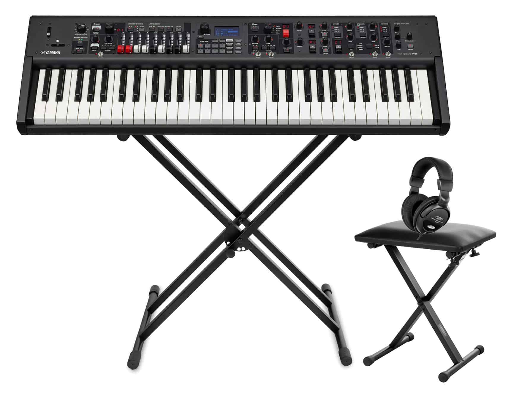 Stagepianos - Yamaha YC61 Zugriegel Orgel Set - Onlineshop Musikhaus Kirstein