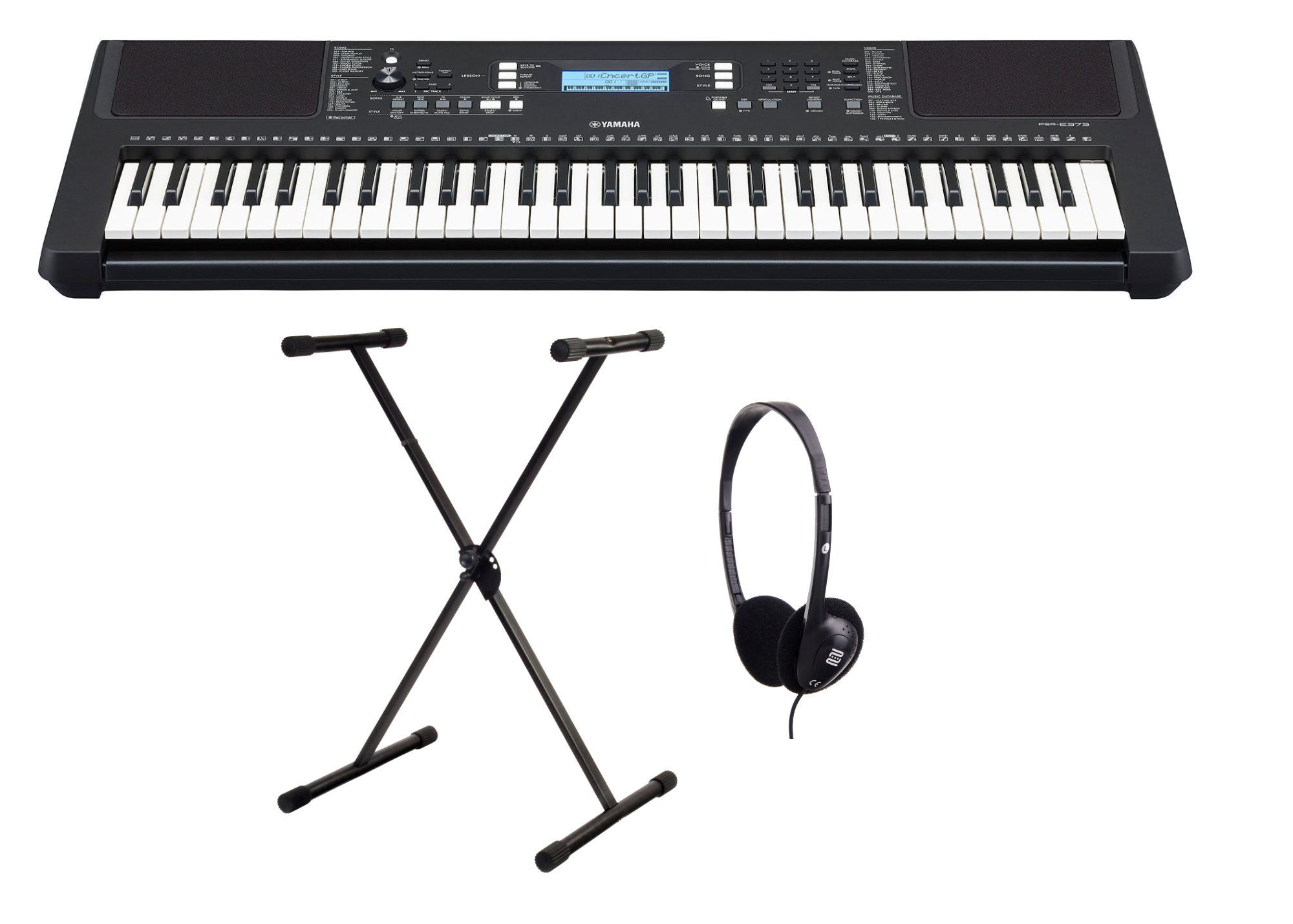 Homekeyboards - Yamaha PSR E373 Keyboard Set - Onlineshop Musikhaus Kirstein