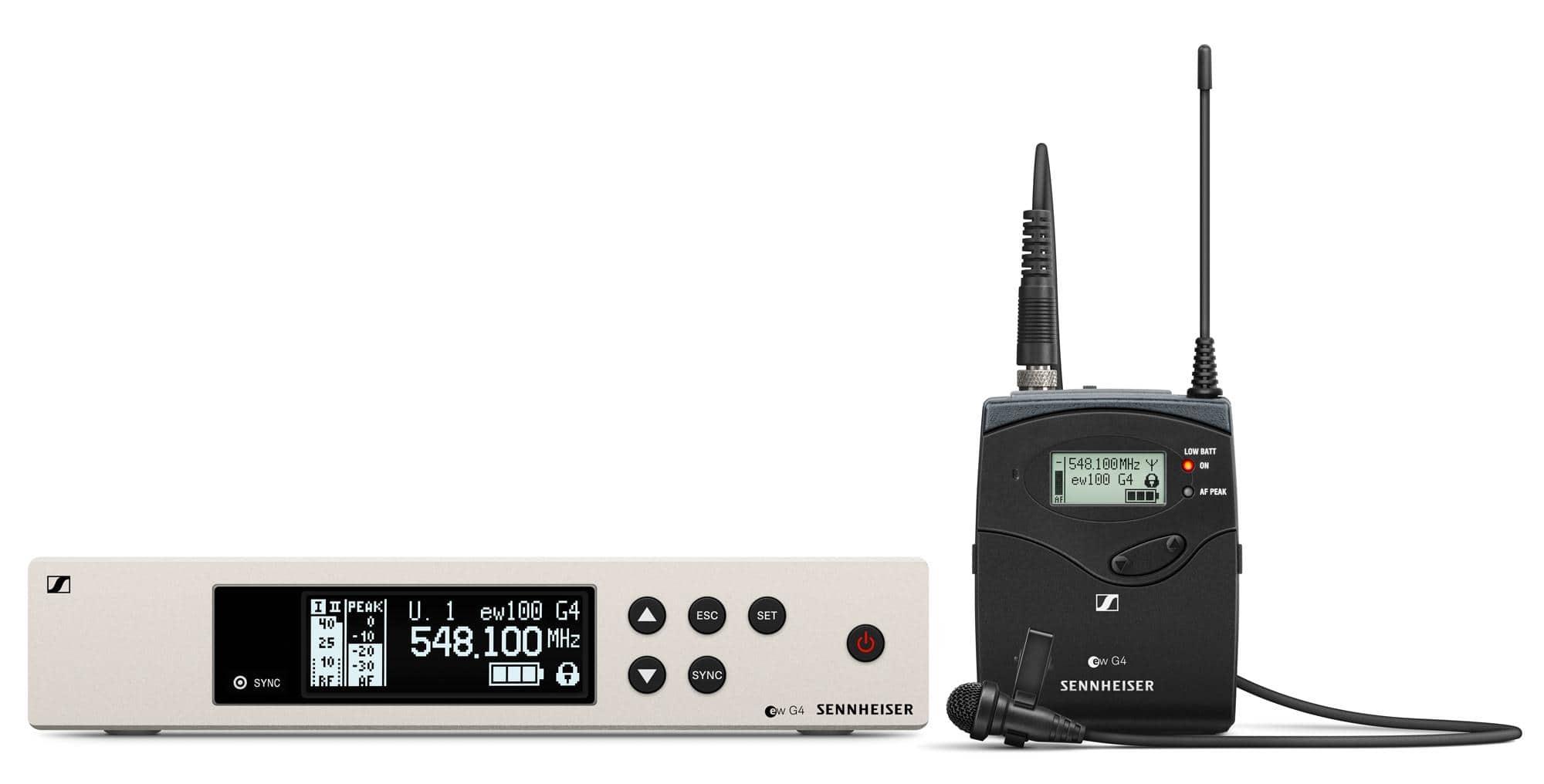 Sennheiser EW 100 G4 ME2 Lavalier Funkset 1G8