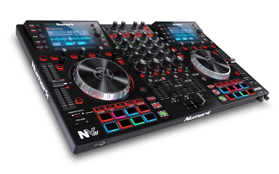 Numark NV II 4 Deck DJ Controller für Serato inkl. Serato Lizenz