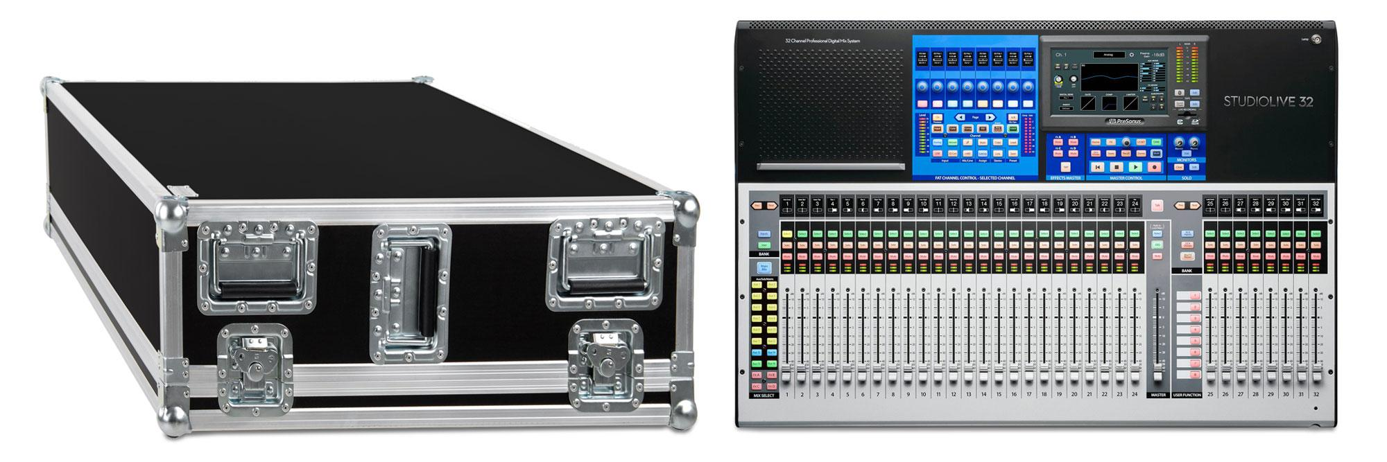 PreSonus StudioLive 32 Series III Set mit Case