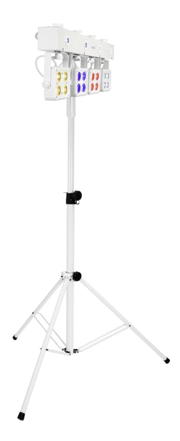 Lichtsets - Eurolite LED KLS 180 ws Stativ Set weiß - Onlineshop Musikhaus Kirstein