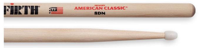 Vic Firth Nylon Drumsticks American Classic 8D