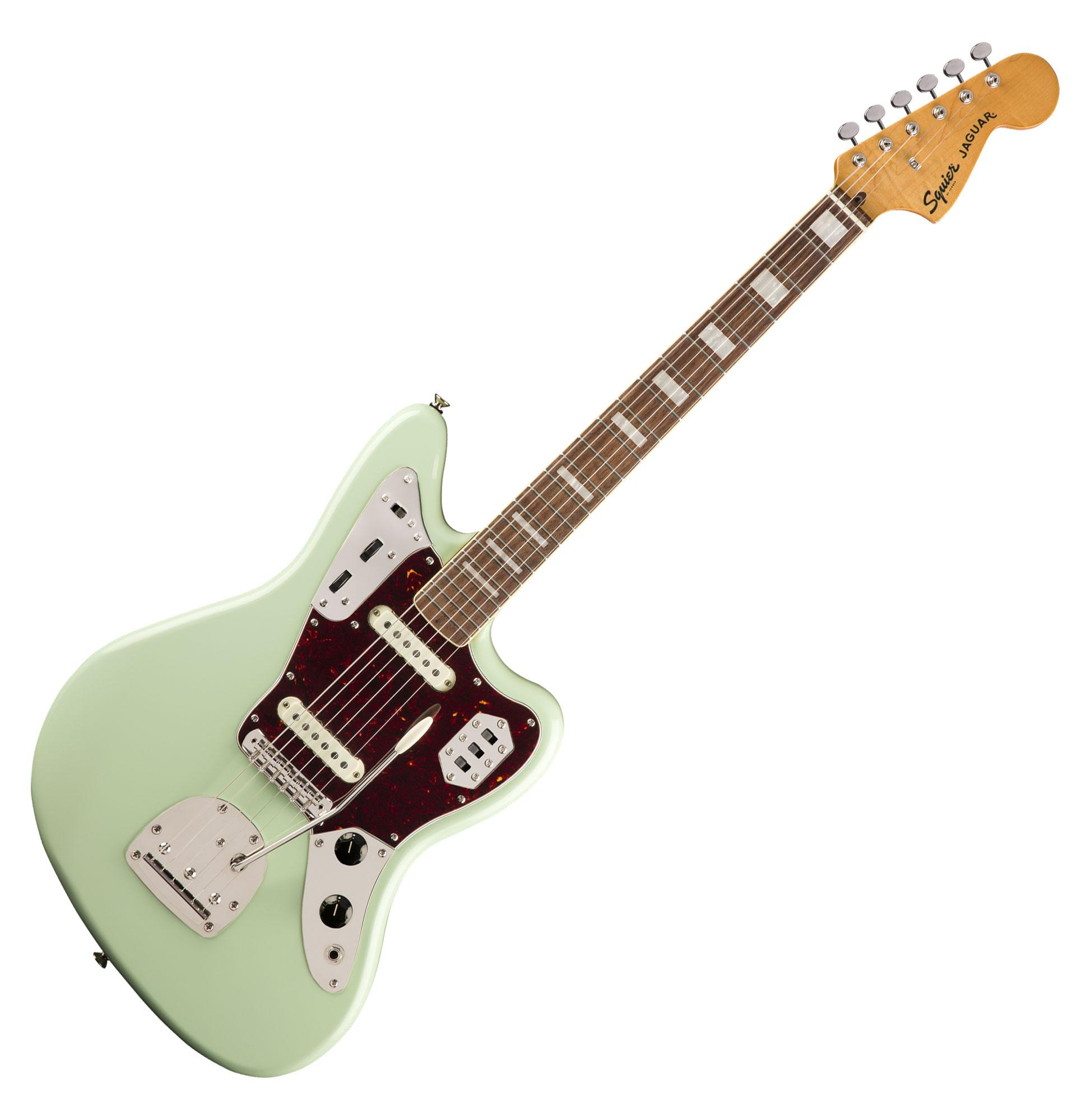 Egitarren - Fender Squier Classic Vibe '70s Jaguar LRL SFG - Onlineshop Musikhaus Kirstein