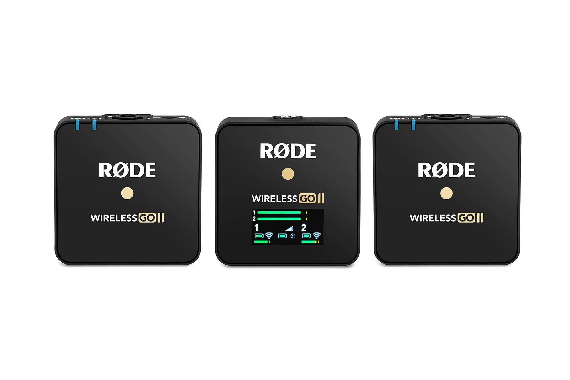Drahtlossysteme - RØDE Wireless GO II - Onlineshop Musikhaus Kirstein