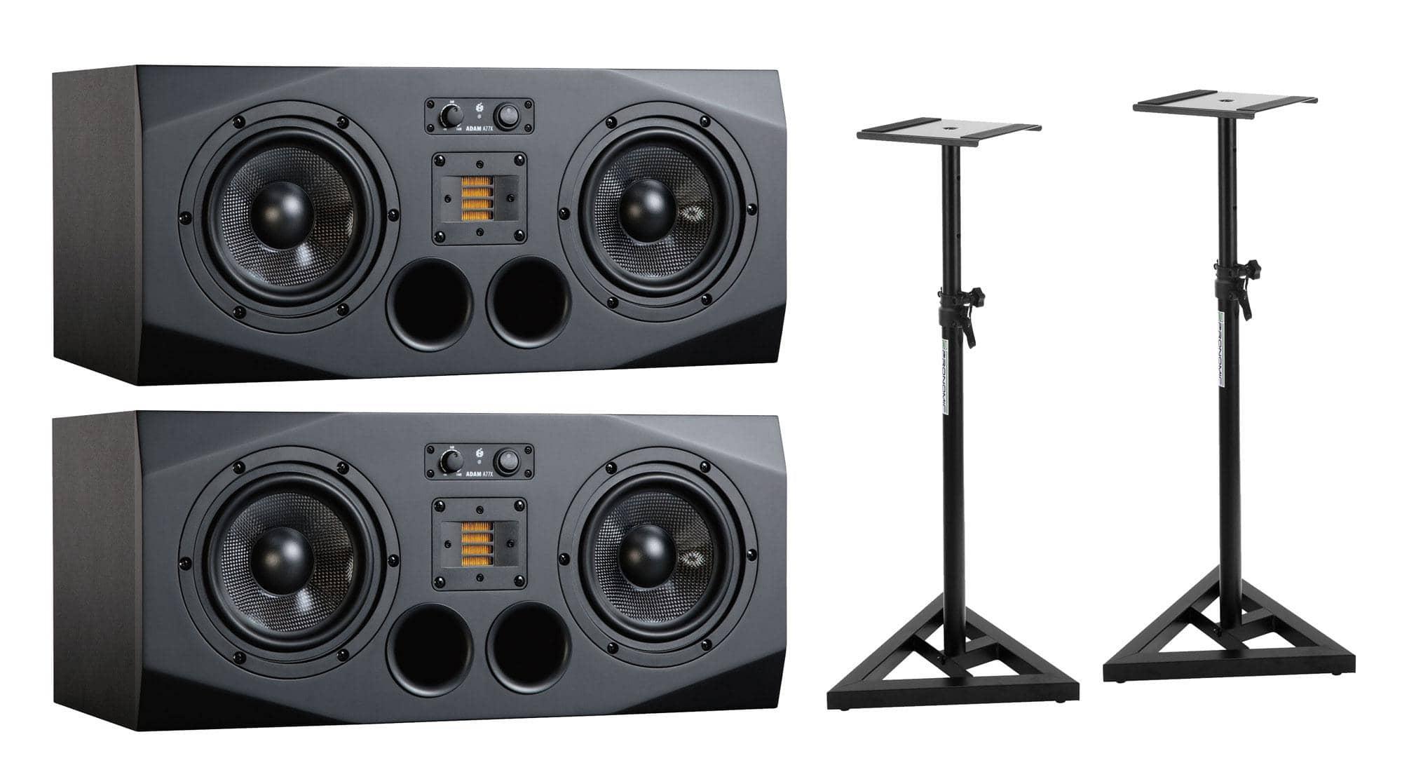 Studiomonitore - Adam Audio A77X Stativ Bundle - Onlineshop Musikhaus Kirstein