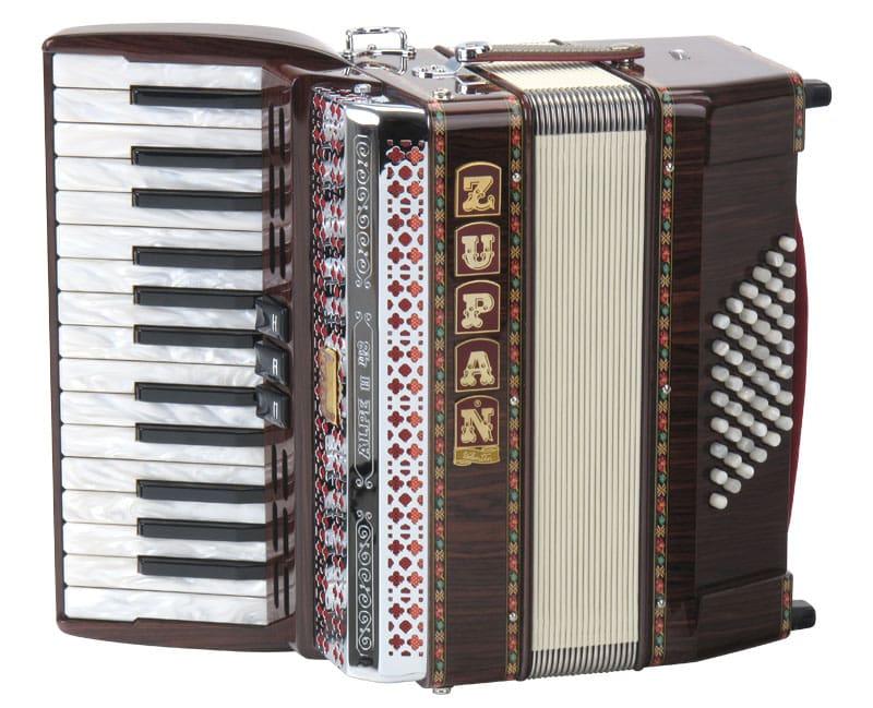 Akkordeons - Zupan Alpe II 48 Akkordeon Palisander - Onlineshop Musikhaus Kirstein