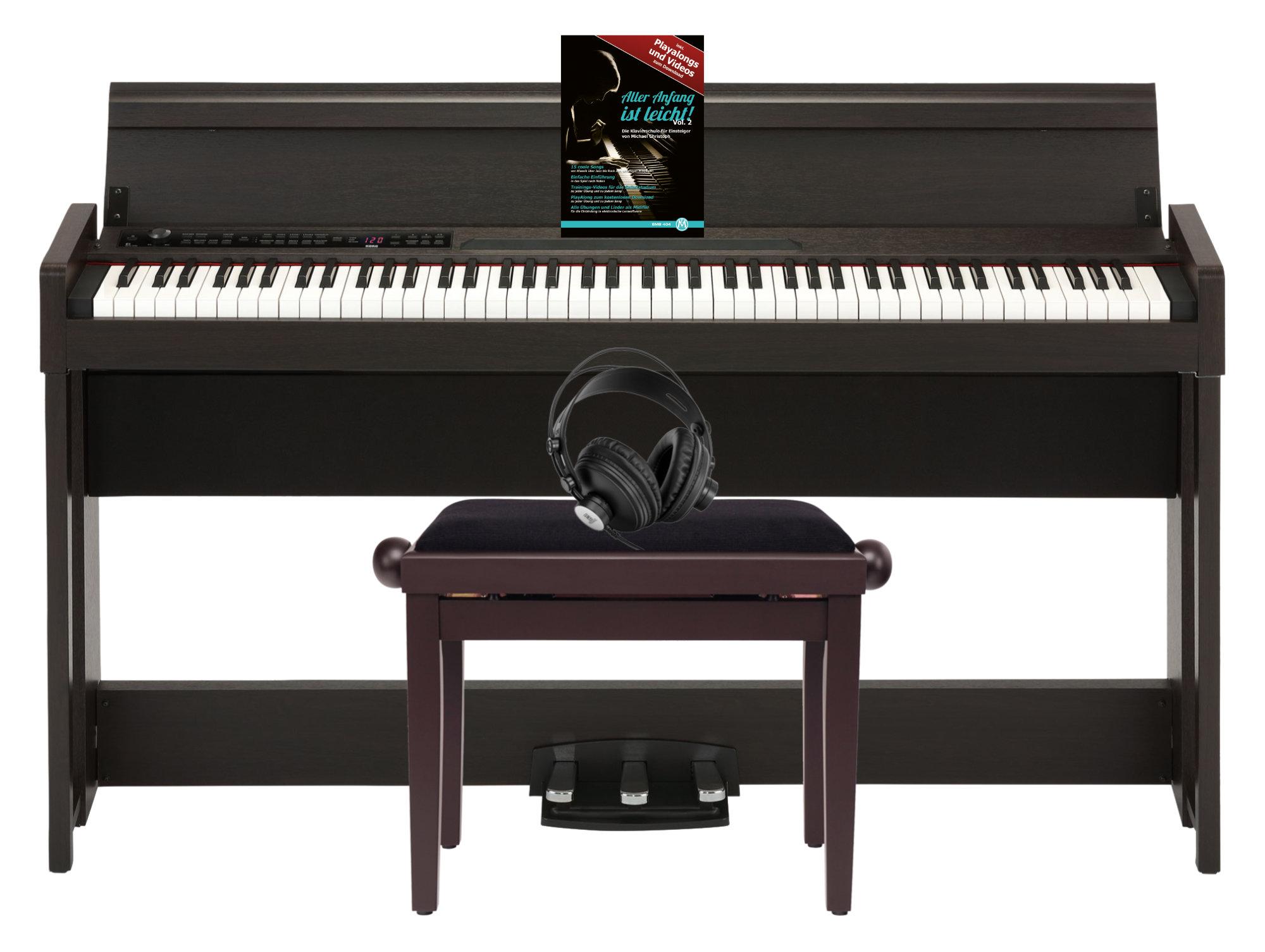 Digitalpianos - Korg C1 Air Digital Piano BR Home Set - Onlineshop Musikhaus Kirstein