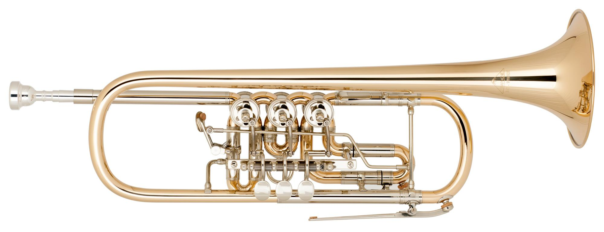 Miraphone Bb 11 Trompete Goldmessing