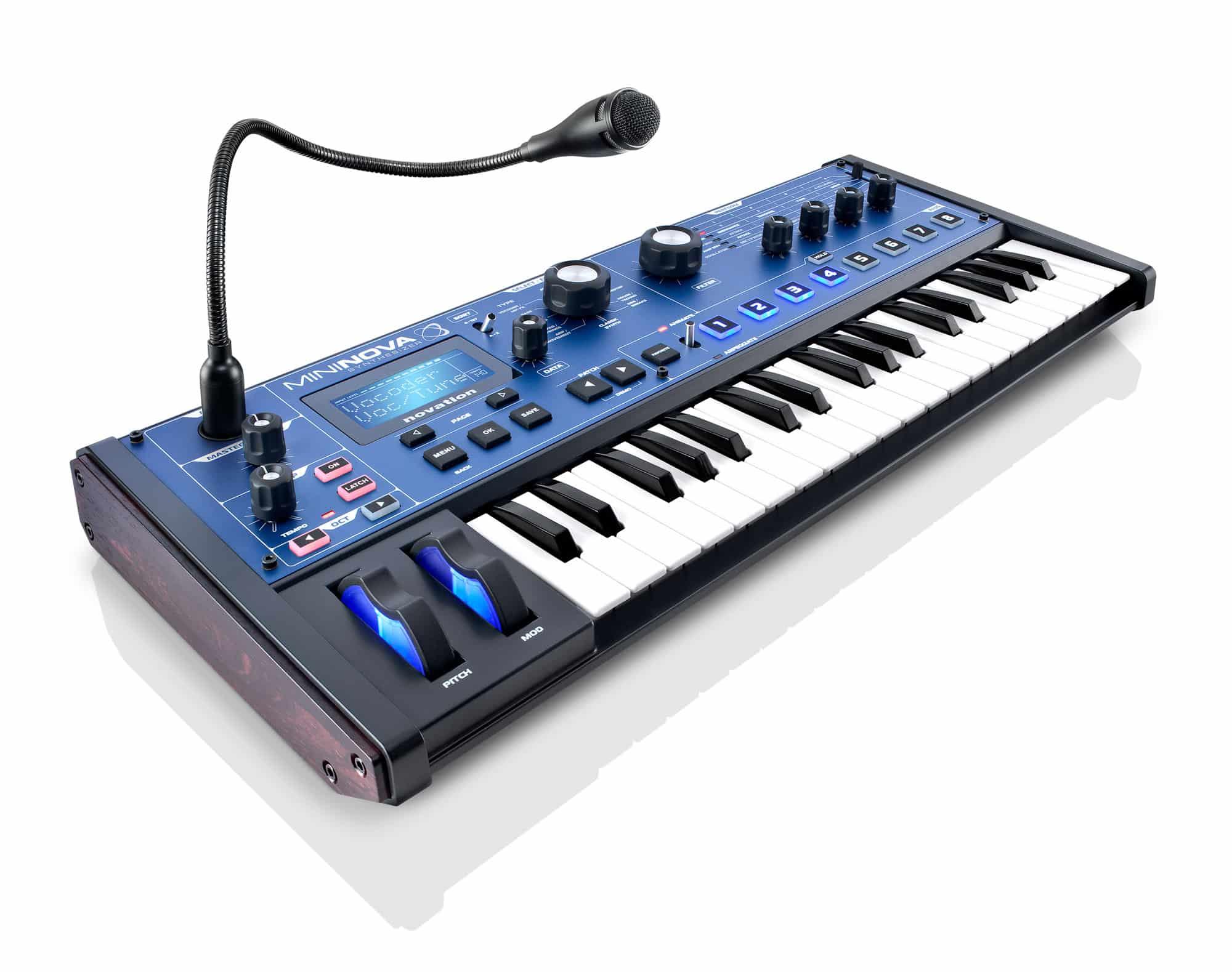 Synthesizer - Novation MiniNova - Onlineshop Musikhaus Kirstein