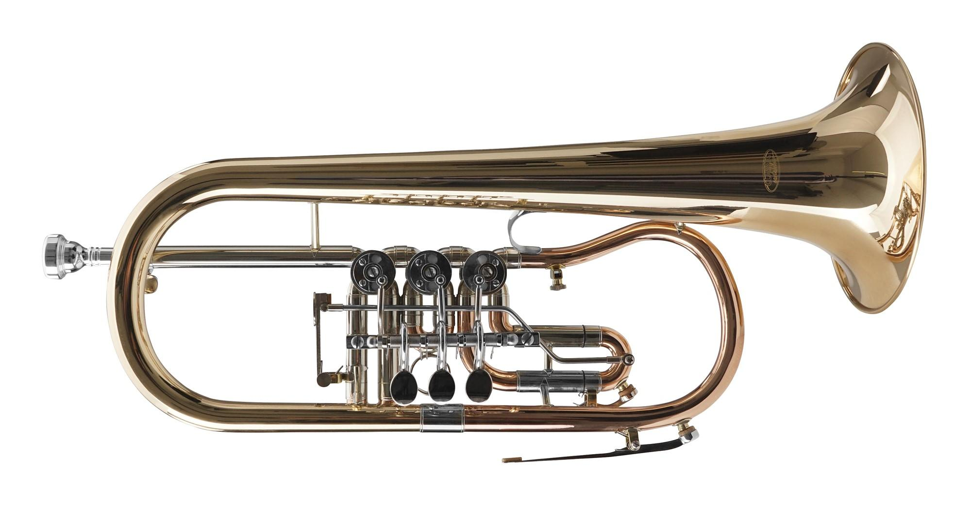 Classic Cantabile FL 43G Bb Flügelhorn Goldmessing