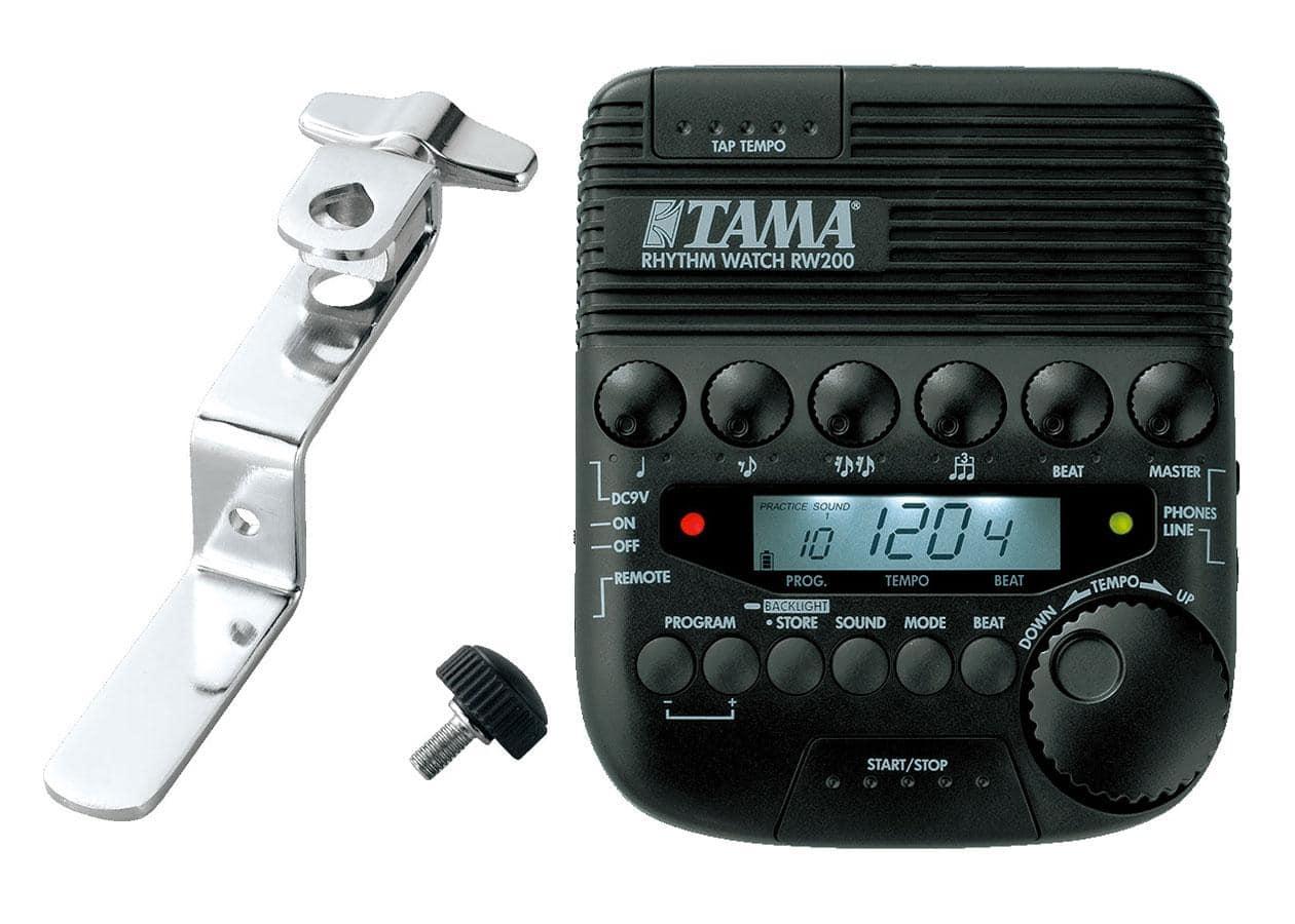 Musikerzubehoer - Tama RW200   RWH10 Rhythm Watch Metronom SET mit Halterung - Onlineshop Musikhaus Kirstein
