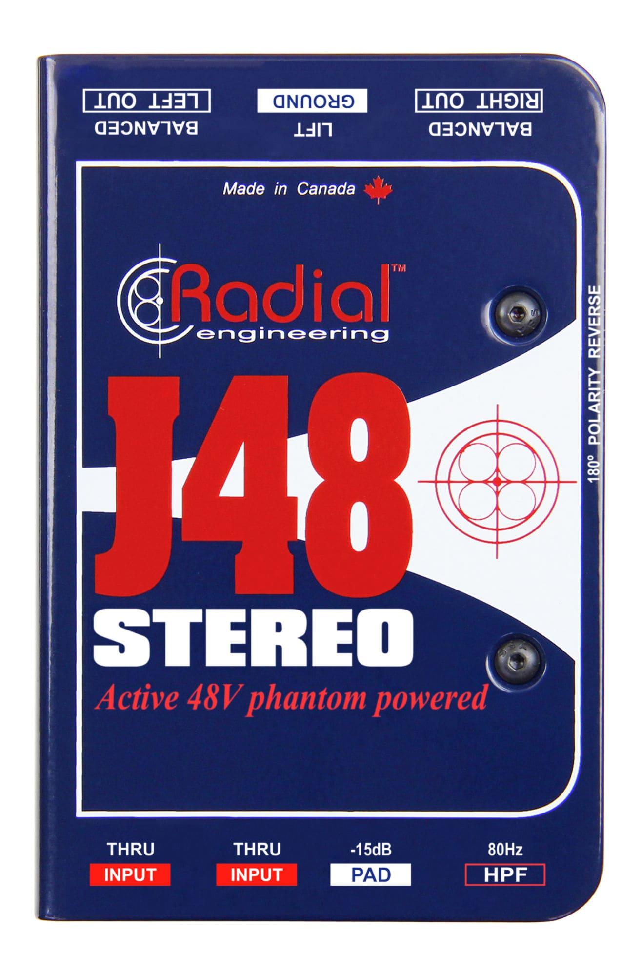 Diboxen - Radial Engineering J48 Stereo - Onlineshop Musikhaus Kirstein