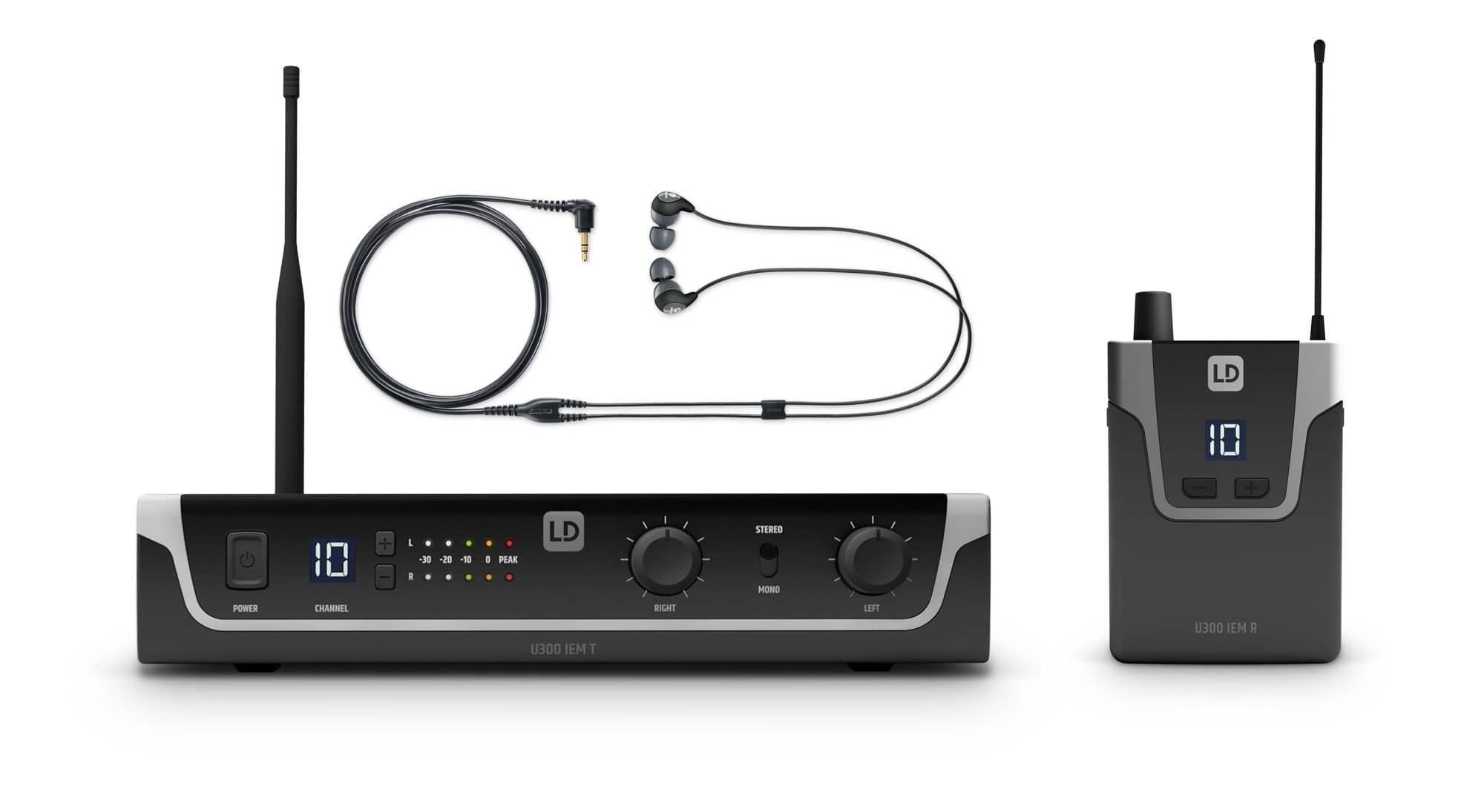 Drahtlossysteme - LD Systems U308 IEM In Ear Monitoring System Set - Onlineshop Musikhaus Kirstein