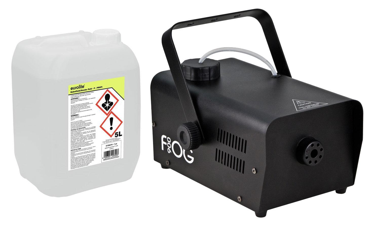 Nebeleffekte - Involight FOG 900 Nebelmaschinen Set inkl. Smoke Fluid, 5L - Onlineshop Musikhaus Kirstein