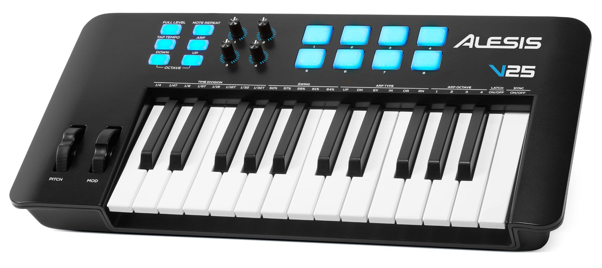 Midimasterkeyboards - Alesis V25 MKII MIDI Controller Keyboard - Onlineshop Musikhaus Kirstein